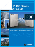 PTP 400 Series User Guide - Software Release 09-XX