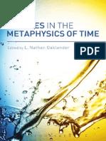 Debates in the Metaphysics of Time (Oaklander)