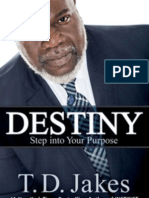 Destiny by T.D. Jakes