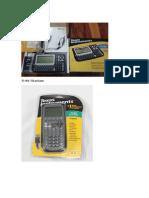 Características Principales Calculadoras