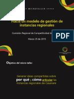 2015-03-25 Instancias Regionales - CODECTI