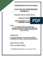 Construccion de Madera Apartir de Fibras Vegetales