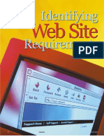 Identifying Website Requirements
