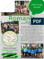 romania flyer