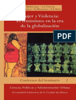 Varias Autoras - Mujer y Violencia. El Feminismo en La Era de La Globalizacion