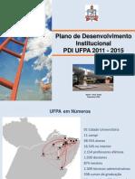Apresentação_PDI_UFPA_2011/2015