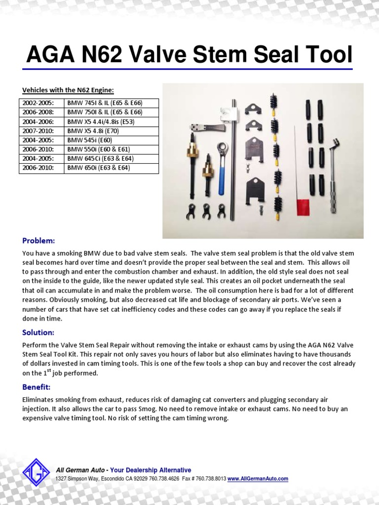 Valve Stem Tool Instruction Updated | Electrical Connector