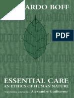 Leonardo Boff - Essential Care an Ethics of Human Nature