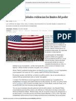 Las Turbulencias Globales Evidencian Los Límites Del Poder de EE UU. Internacional EL PAÍS