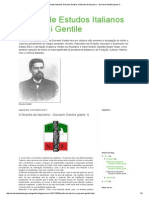 GENTILE.a Filosofia Do Fascismo(1927)