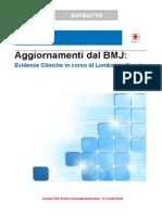 Aggiornamenti Dal BMJ - Lombalgia Cronica
