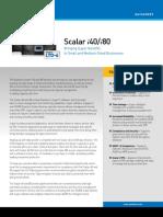 Scalar i40_Scalar i80 Entry-level Tape Library Datasheet [DS00410A]