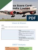 Air India_Balance Score Card