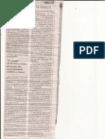Recorte de Periodico