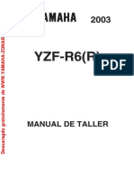 Manual de Taller Yamaha R6 2003