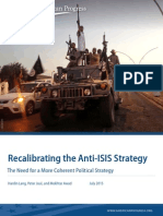 Recalibrating the Anti-ISIS Strategy