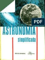 Astronomia Simplificada Meir Degani Ediciones Minerva 1969.pdf