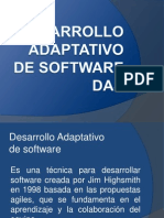 Desarrollo Adaptativo de Software