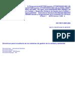 66598044 Iso Dis 19011 Doc Directrices Para Auditoria