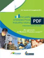 Manual Para Llenado Encuesta Industria Manufacturera Fundaempresa