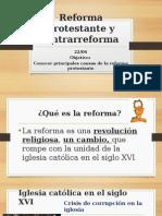 Reforma y Contrarreforma Protestante