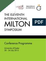 IMS11 Programme