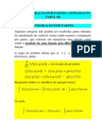 Integracao Por Partes_Integracao Tabular