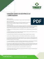 Assistencia Carro Reserva Trust Assistência