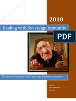 Dealing With Sovereign Immunity