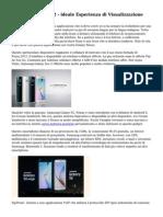Samsung Galaxy S2 - ideale Esperienza di Visualizzazione