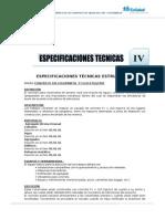 ESPECIF. TECNICAS-ESTRUCTURAS