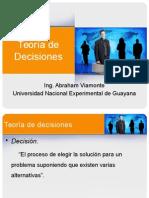 Teoría de Decisiones