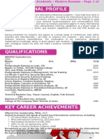Modern Resume Four Pages