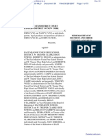 Cave et al v. East Meadow Union Free School District et al - Document No. 30