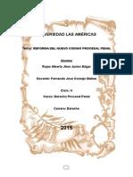 Prosesal Penal Reforma Del NCPP