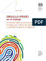 Informe sobre discriminación