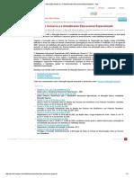 Educação Inclusiva e o Atendimento Educacional Especializado - Inep