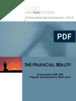 ISPA 2006 the Financial Reality