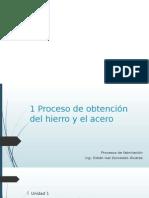 Procesos de Fabricación Unidad 1