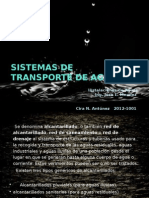 Sistemas de Transporte de Agua