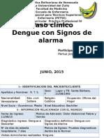 Dengue con signos de alarma