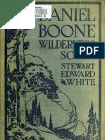 White - Daniel Boone Wilderness Scout (1922)