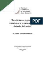 Caracterizacion mecanica disipador
