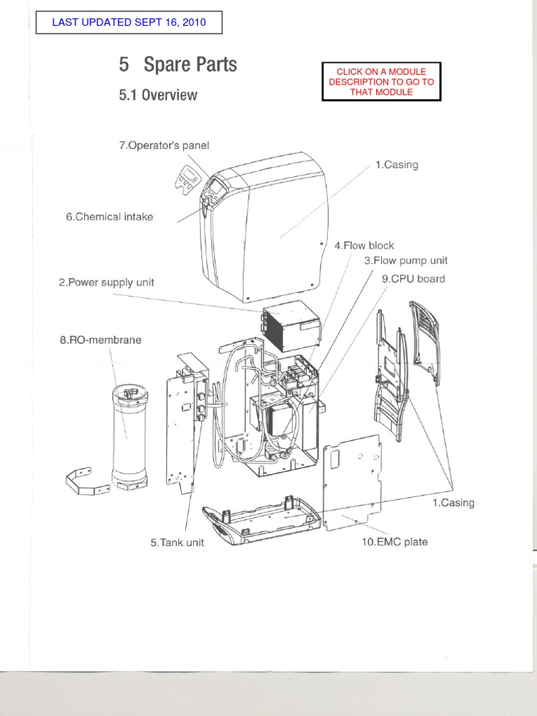 MS Osmose WRO300 Illustrated Parts Manual 2010-09 En