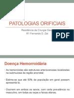 Patologias Orificiais