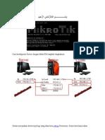 PRAKTEK. Konfigurasi Router Dengan Mikrotik Sebagai Gateway