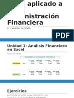 Sesión 1 Excel Financiero