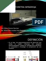 2 Espectrofotometría Infrarroja (Tarea 2)