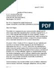 OCC FOIA Request June 27 2014