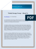 Trinity Energy Group – About Us